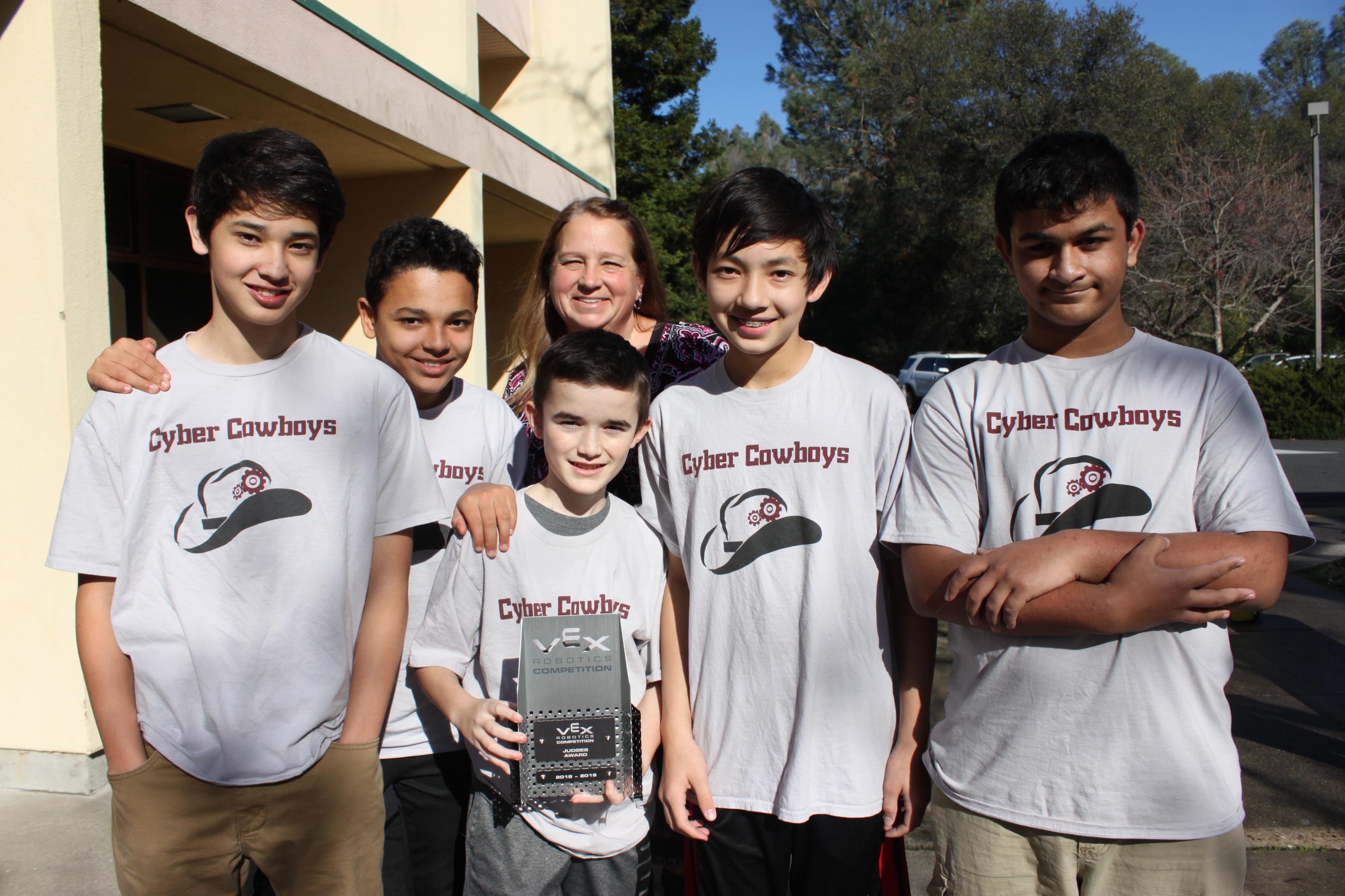 Cavitt Junior High School - Our Robots