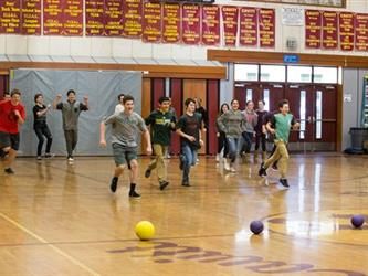 Dodgeball Intramural Style!